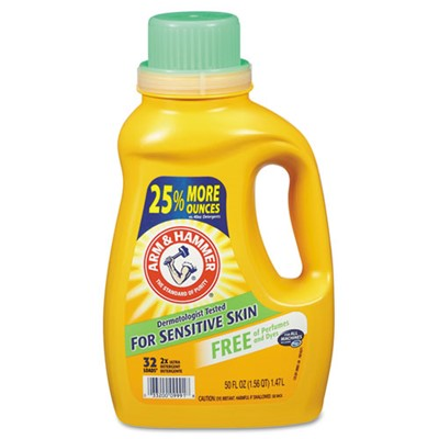 CMS ARM/HAMMER LAUNDRY DETERGENT 8-50/CS