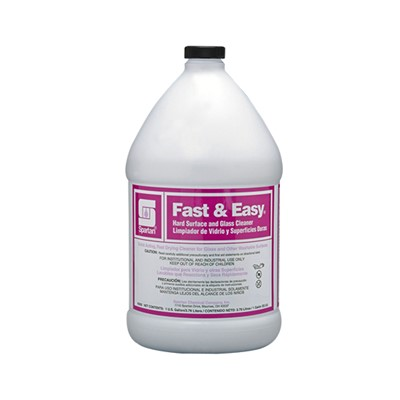 FAST & EASY GLASS CLEANER GAL.
