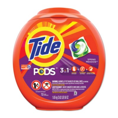 TIDE LAUNDRY PODS SPRING MEADOW 288/CS.
