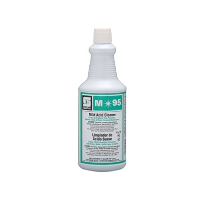 M95 MILD ACID BOWL CLEANER 12 QT/CS.