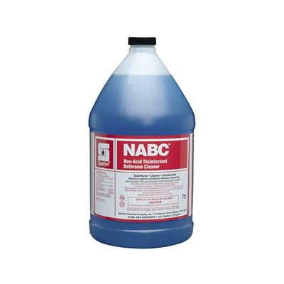 NABC NON-ACID BATHROOM CLN. 4 GL/CS.
