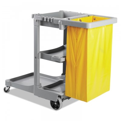 JANITORS CART GRAY