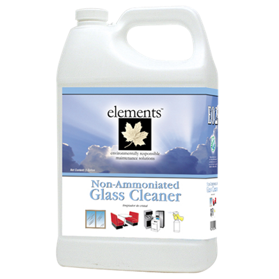 E02 GLASS CLEANER R.T.U. 12 QT/CS.