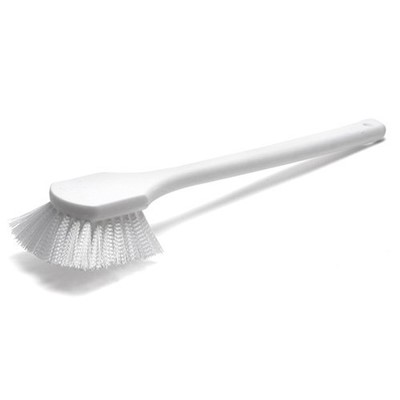 BRU BRUSH SCRUB/UTILITY 20IN WHITE NYLON