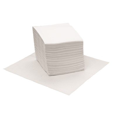 WIPER HEAVY DUTY WHITE 12X13  1/4 FOLD